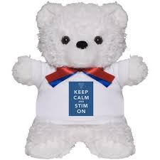 ivf 5 - keep calm stim on bear