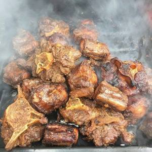 Smoked Jamaican Ox Tails