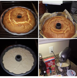 five flavor pound cakes